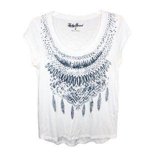 5/$35 Lucky Brand Short Sleeve T-Shirt - M